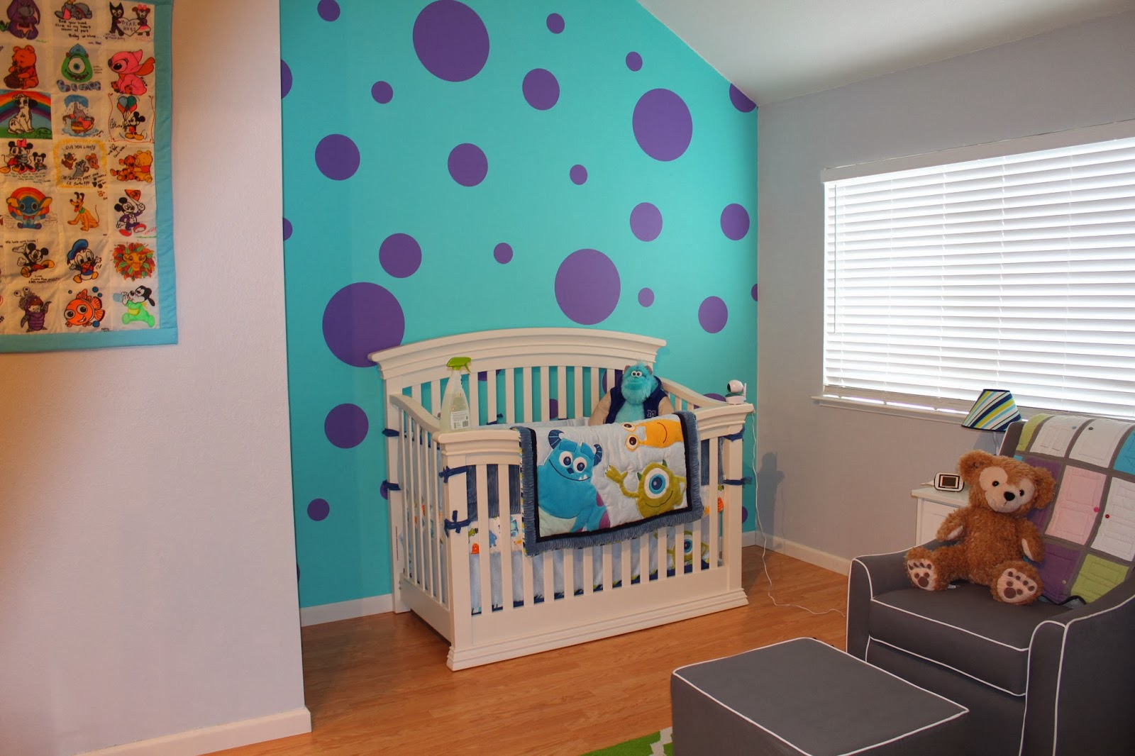Everything Designish Baby Boy S Nursery: Life With The Tans: Liam's Monster's Inc Nursery