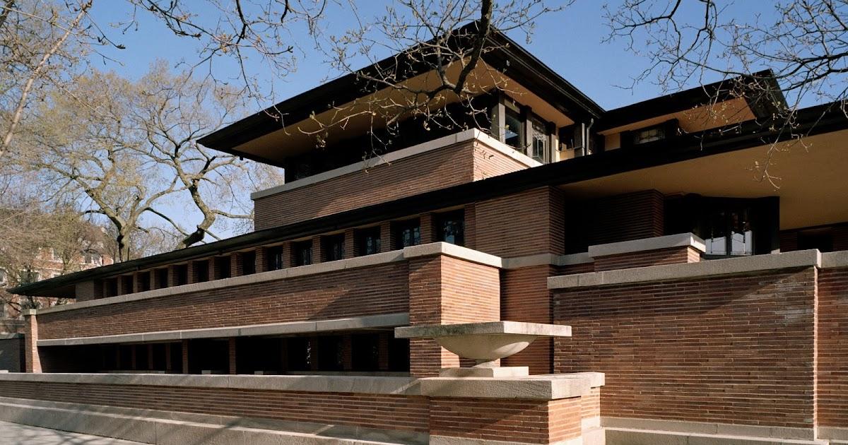 Exterior: Tour America's History: Frederick C. Robie House