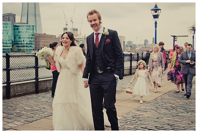 Real Tower Of London Wedding: Vix & Rory