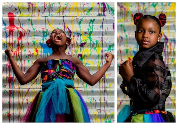 8-year-old barred from school picture day because of 'extreme hairstyle' gets an empowering photo shoot