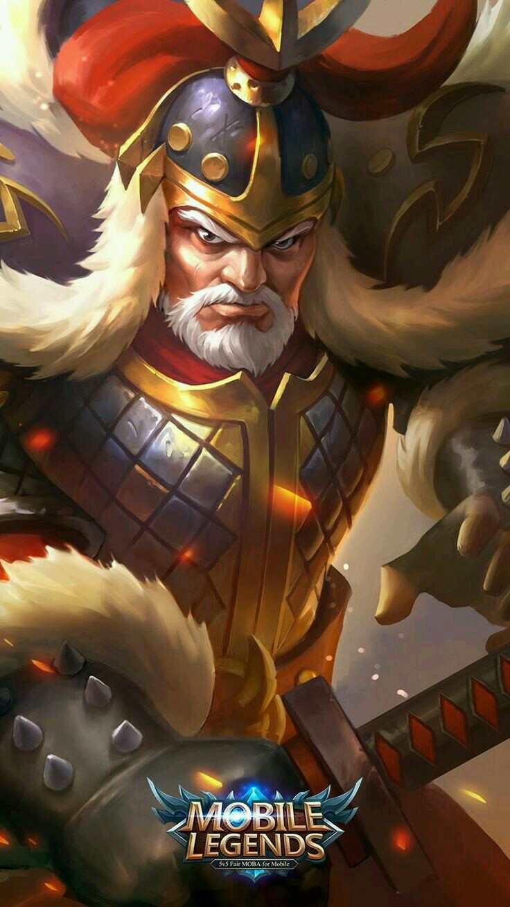 Wallpaper Yi Sun-Shin Major General Skin Mobile Legends HD for Android and iOS