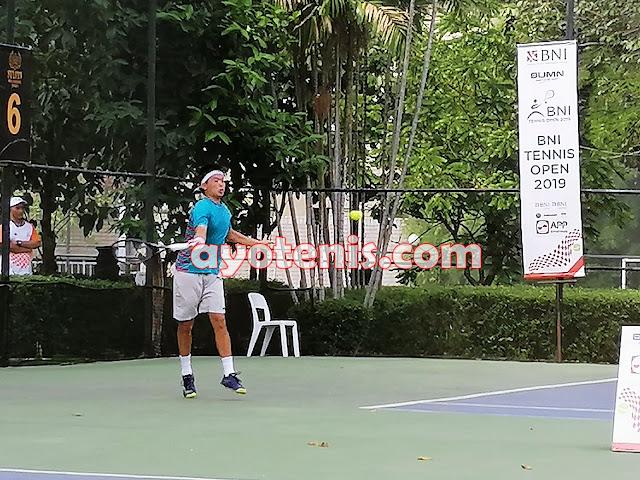 Boneng dan Anthony Pijakkan Kaki ke Perempat Final Tennis Open di Jakarta