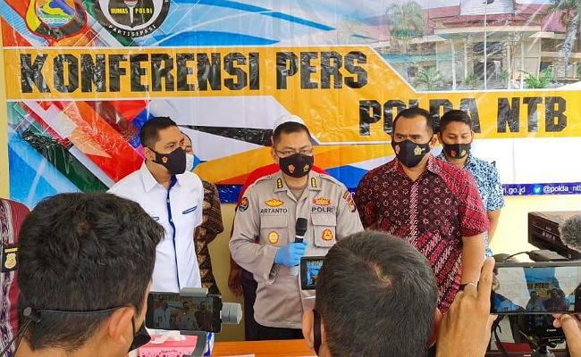Dua Bulan Lidik, Ditreskrimum Polda NTB Ungkap Pembuat Surat Rapid Tes Palsu