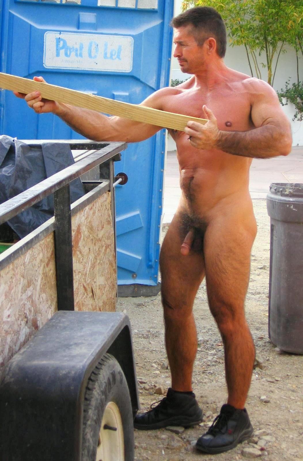 Rude work jamaican nude man