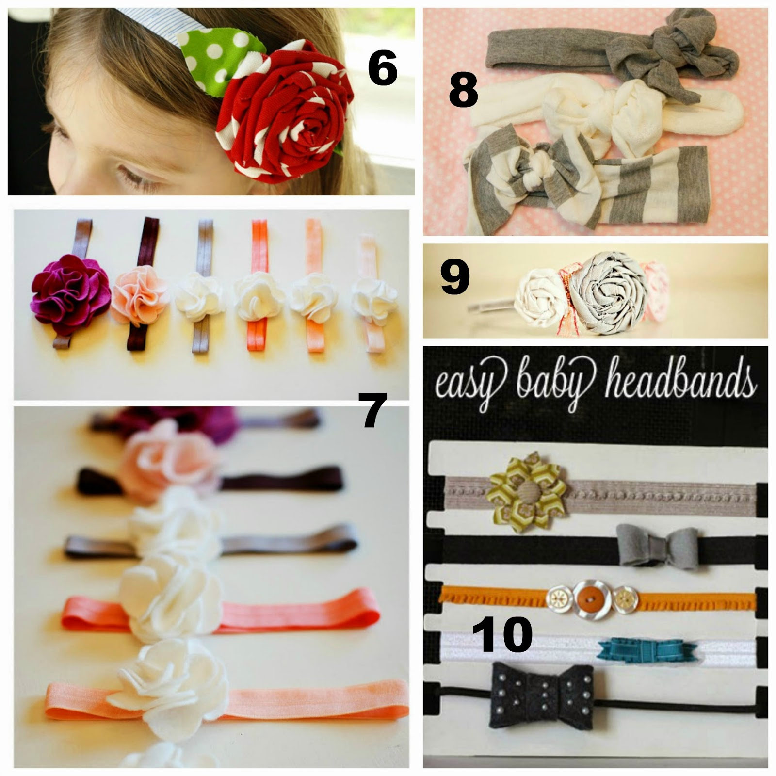 Someday Crafts 15 Baby Girl Headbands Hairbows And Flowers
