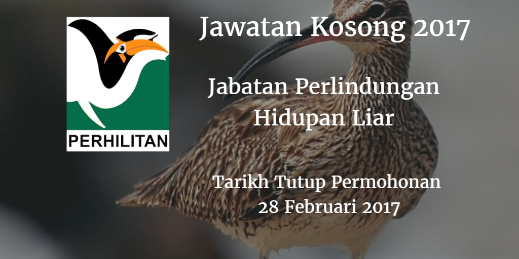 Jawatan Kosong Perhilitan 28 Februari 2017
