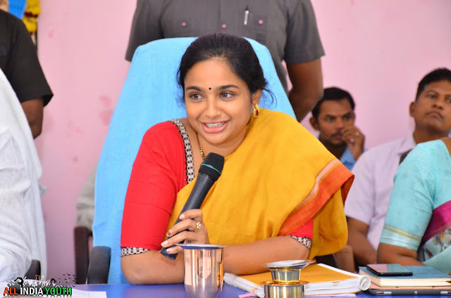 Swetha Mohanty IAS Officer Smiling in Office