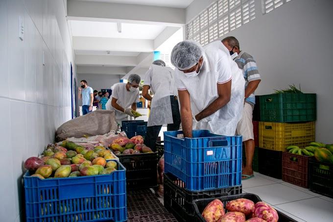 Em Juazeiro - Sedest adquire mais de 1.600 quilos de alimentos através do PAA