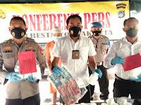 Ungkap Kasus, Satresnarkoba Amankan Pengedar dan 33 Ribu Butir Obaya