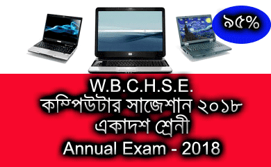 West Bengal Board Class XI Computer Application Suggestion - 2018