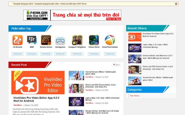 Template Jalan Tikus Blogger free