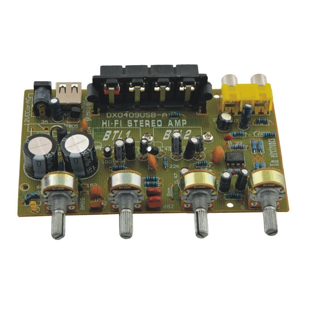 DX-0409 200W Stereo Amplifier 3M Electronix Cebu Philippines Electronics parts and components supplier online store