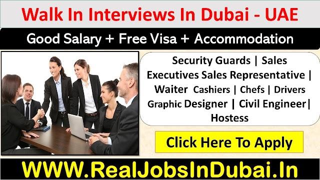 Walk In Interview In Dubai - UAE