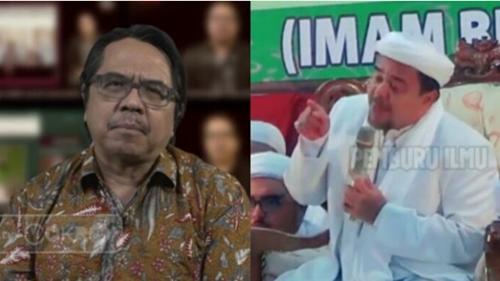 Ade Armando: Rizieq Terjun Bebas dari Imam Besar Jadi Pesakitan