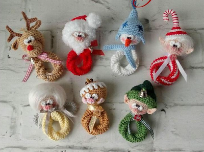 Enfeite de Natal de Crochê: 65 Modelos Lindos para se Inspirar