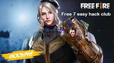 Free 7 easy hack club cara mendapat Diamond dan Coin di free fire  [Gratis dan Work]