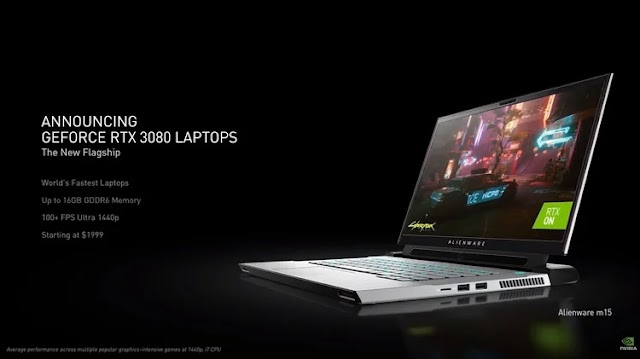 CES 2021 features NVIDIA's strategy with GeForce RTX 3060 and mobile laptops