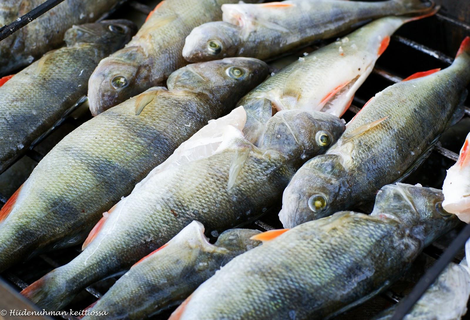 kalan suolaus savustuksen jälkeen