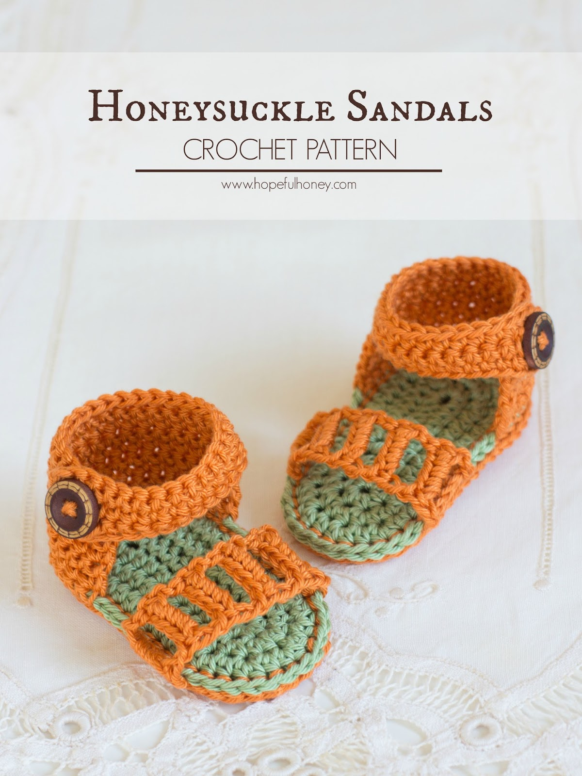 Hopeful Honey Craft, Crochet, Create: Honeysuckle Baby ...