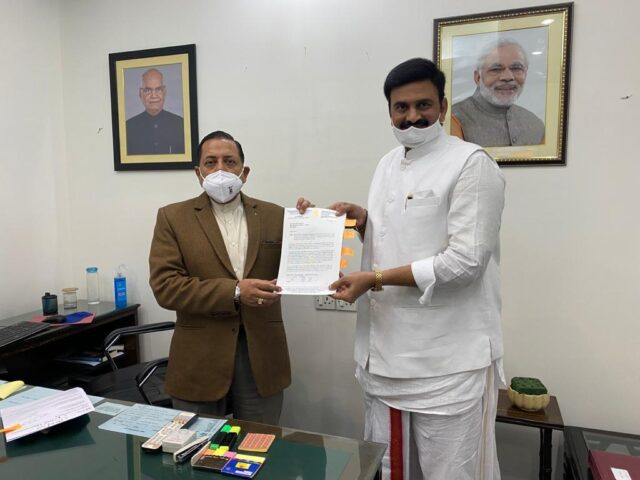 MP Raghuram krishna raju's detailed report to pm's office on conversions