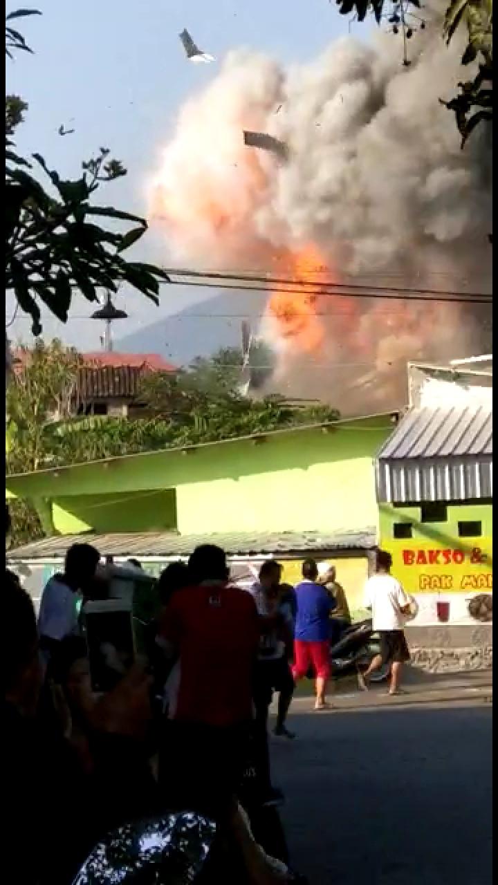Innalillah... Detik-detik Ledakan di Mako Brimob Semarang