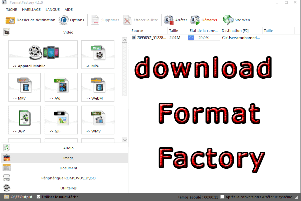 download and insttal Format Factory for free
