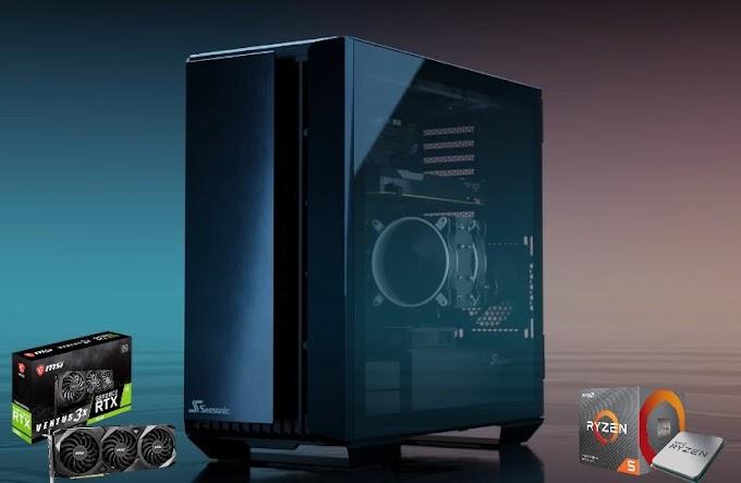 Sorteio de um PC Gamer com Ryzen 5 5600X e RTX 3080