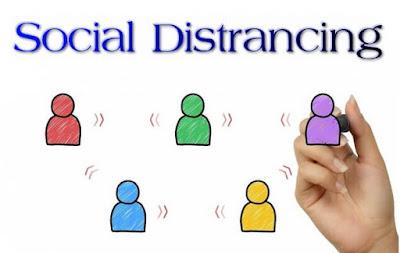 istilah social dictrancing