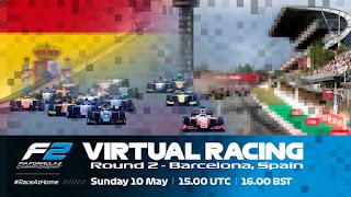 Resultado Carrera Virtual de F2 España 10-5-2020