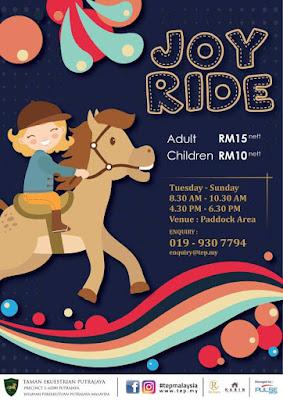 Taman Ekuestrian Putrajaya - Pengalaman Menunggang Kuda
