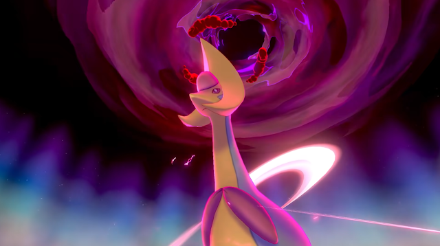 endless dynamax adventure Cresselia Pokémon Sword Shield The Crown Tundra expansion pass