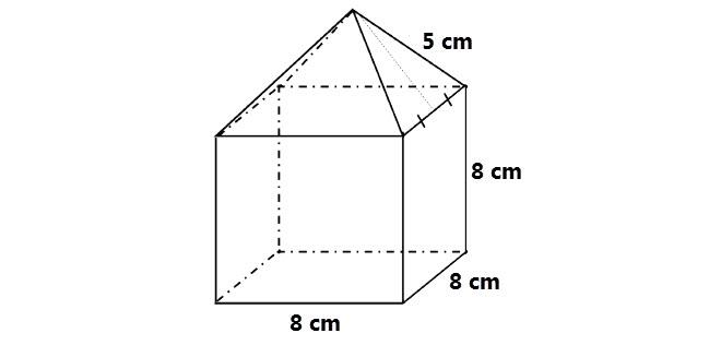 Luas permukaan gabungan bangun ruang merupakan luas gabungan dari dua atau lebih bangun ru Gabungan Luas Permukaan Bangun Ruang