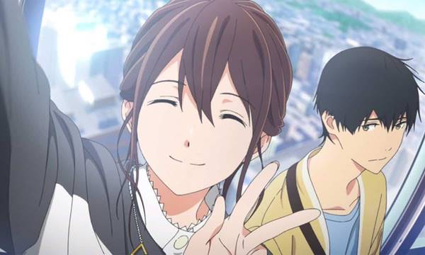 Review I Want to Eat Your Pancreas (2018), Film Anime Romance School yang Baper