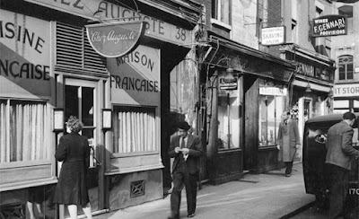 Fotografías antiguas del Soho de Londres