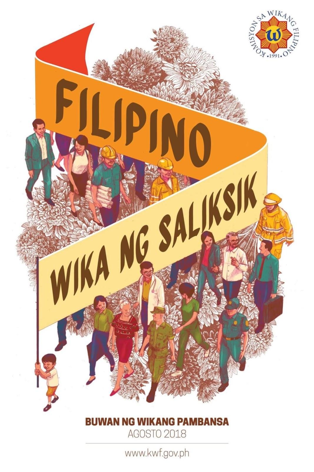 'Buwan ng Wika' 2018 theme, official memo, poster and sample slogan