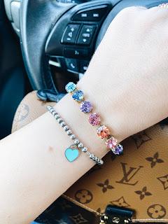 loren hope, bracelet, arm candy, tiffany & co