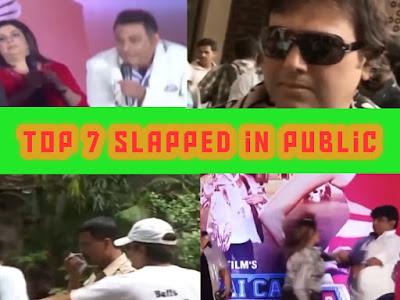 Top 7 Slapped in Public