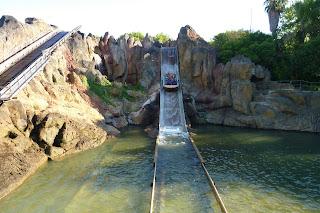 Segunda caída del Tutuki Splash.