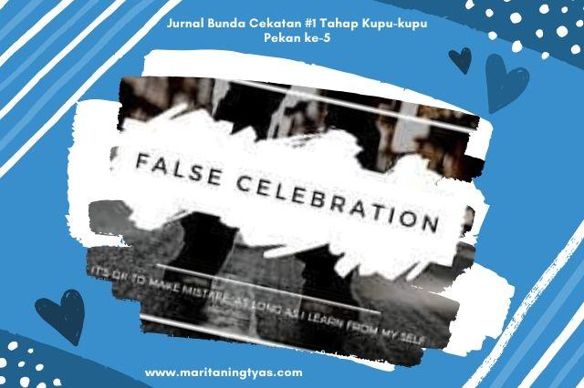 false celebration bunda cekatan