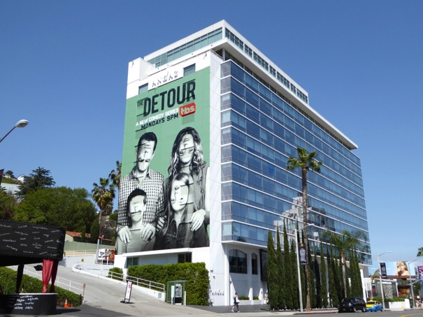 Detour giant series launch billboard