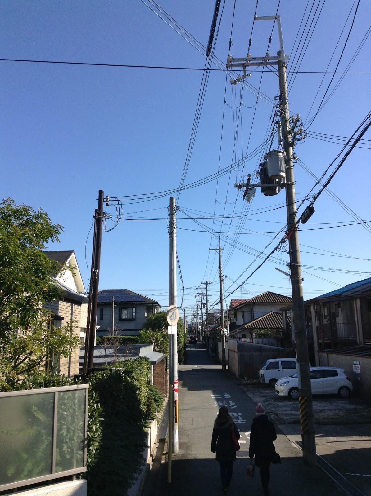 Kyoto suburban street