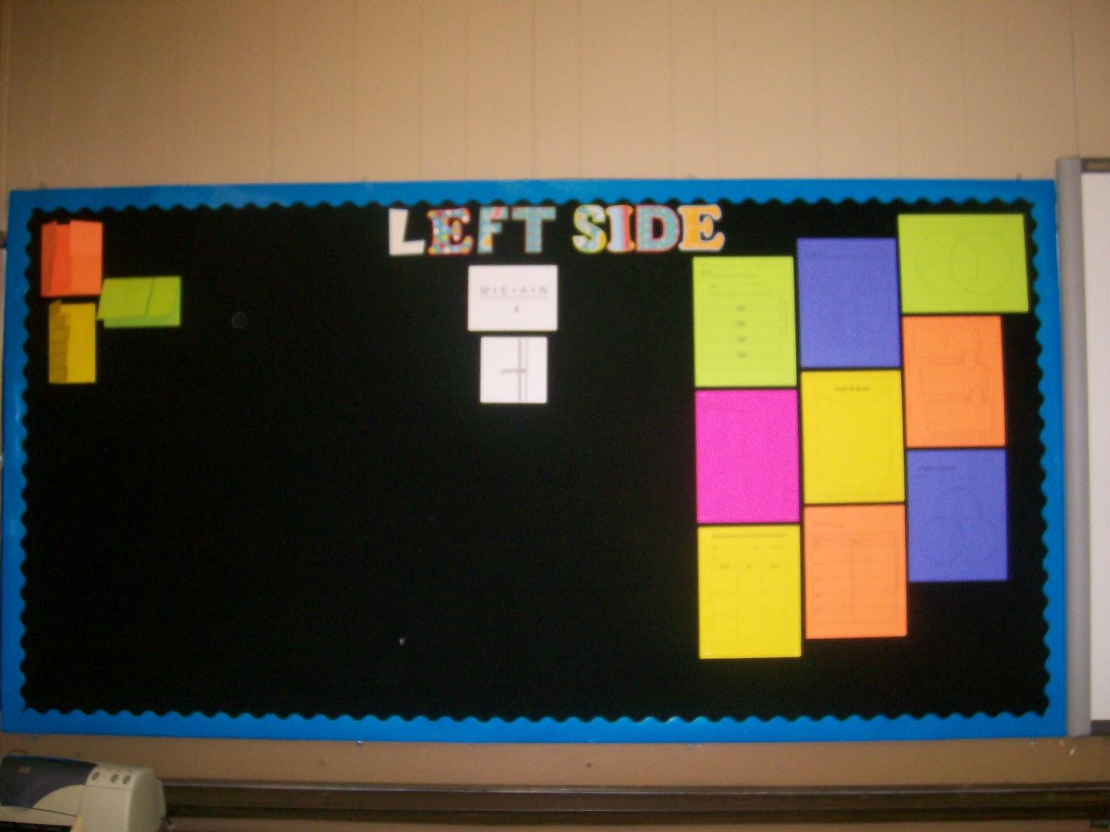 Math Love Bulletin Board Ideas
