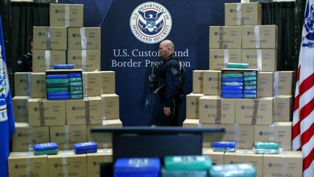 Informe: 77 % de narcotraficantes en EEUU es ciudadano americano
