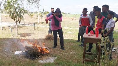 Rekacipta Alat Pemadam Kebakaran. Kreatifnya Murid Kita!