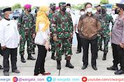 Panglima TNI Bersama Kapolri dan Menkes Tinjau Rusun Nagrak Serta Beberapa Posko PPKM Mikro di Jakarta