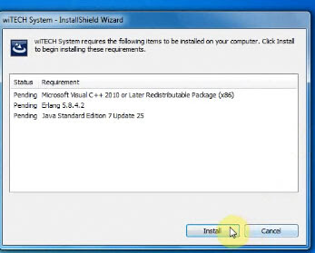 wiTech-17.04.27-install-5 How to set up wiTech MicroPod II V17.04.27 on Windows 7 Drivers Software
