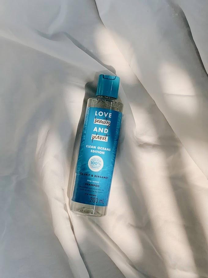 Review: Love Beauty And Planet Sea Salt & Bergamot Shampoo Untuk Kulit Kepala Sensitif