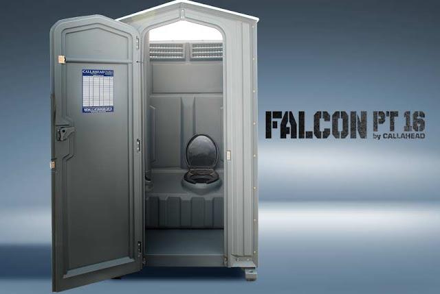 Falcon PT16 Portable Toilet for Construction
