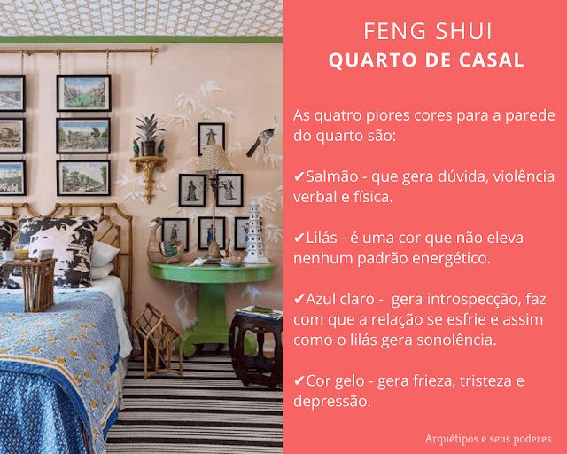 Feng Shui no Quarto do Casal
