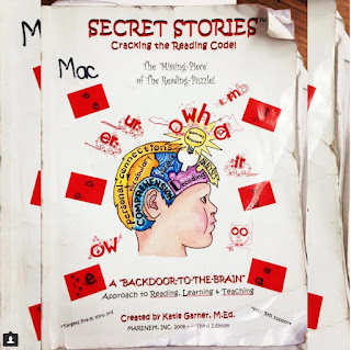 """A VERY """"Well-Used"""" Secret Stories® Phonics Book"""